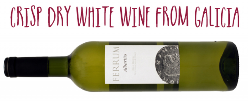 Ferrum Albarino white wine from Rias Baixas Spain.jpg