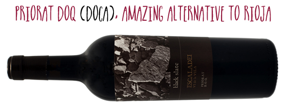 La Conreria D Scala Black Slate Escaladei Priorat organic red wine from Spain.JPG