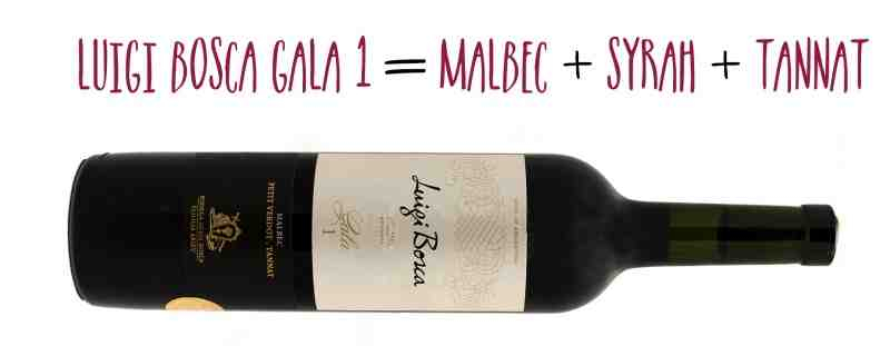 Luigi Bosca Gala 1 Malbec blend from Wines With Attitude