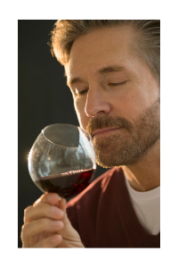Sniffing wine by Wines With Attitude