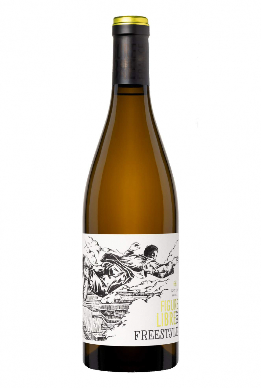 Domaine Gayda ~ Figure Libre Freestyle Blanc 2017